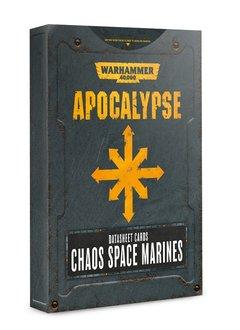 Apocalypse: Datasheet Cards Chaos Space Marines (Disponible le 6 Juillet)