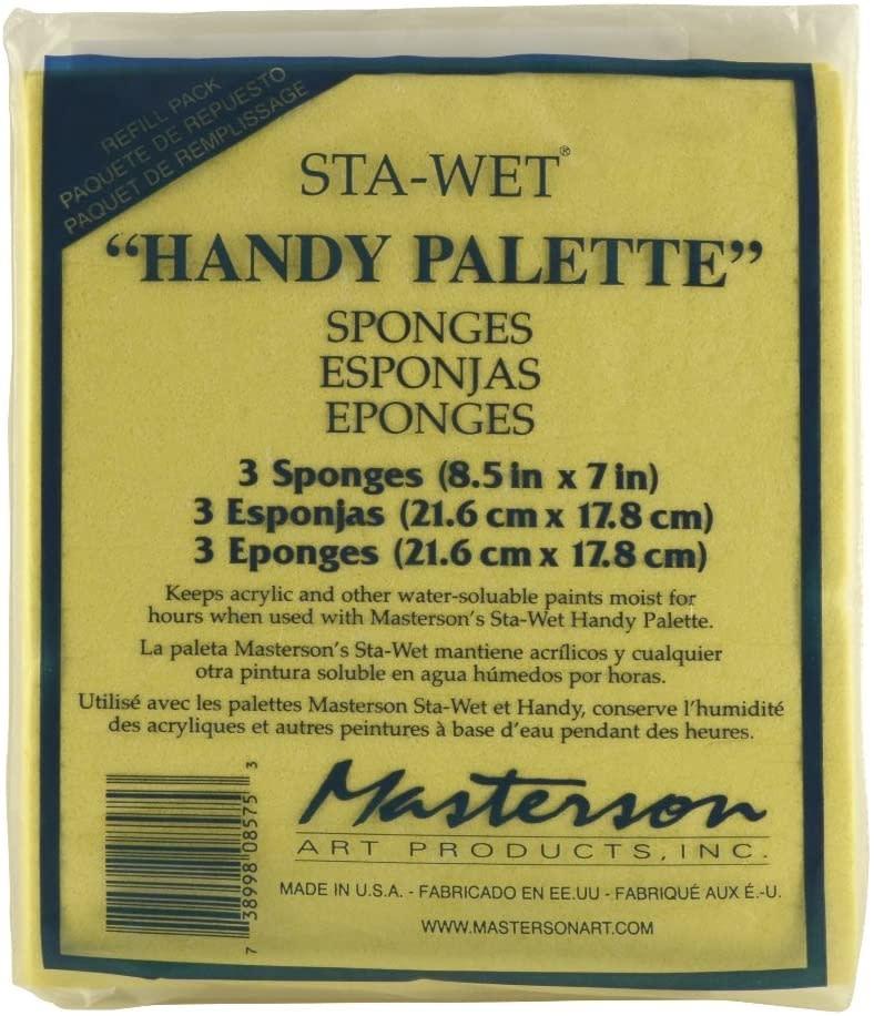 Sta-Wet Handy Palette Sponge Refill (1ct)