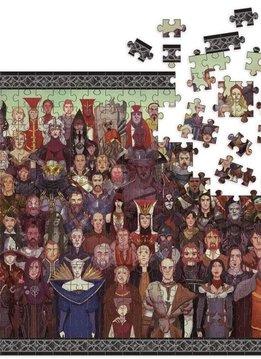 """Puzzle: Dragon Age - Cast of Thousands 20""""x27"""" (1000pc)"""