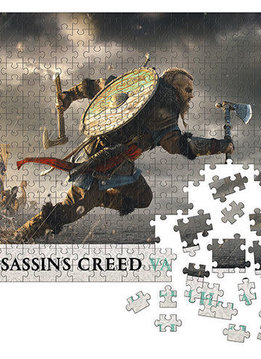 """Puzzle: Assassin's Creed Valhalla - Fortress Assault 20""""x27"""" (1000pc)"""
