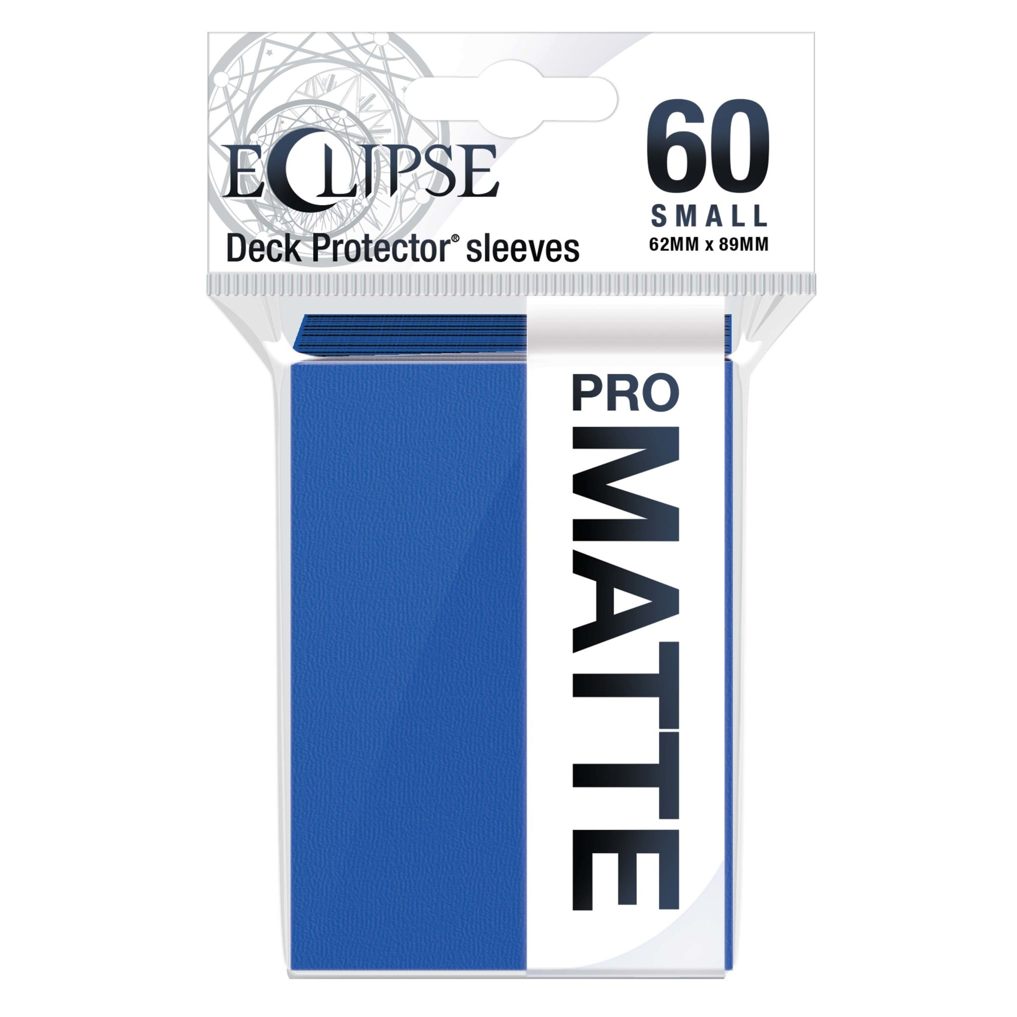 Eclipse Pacific Blue Small Matte Sleeves (60ct)