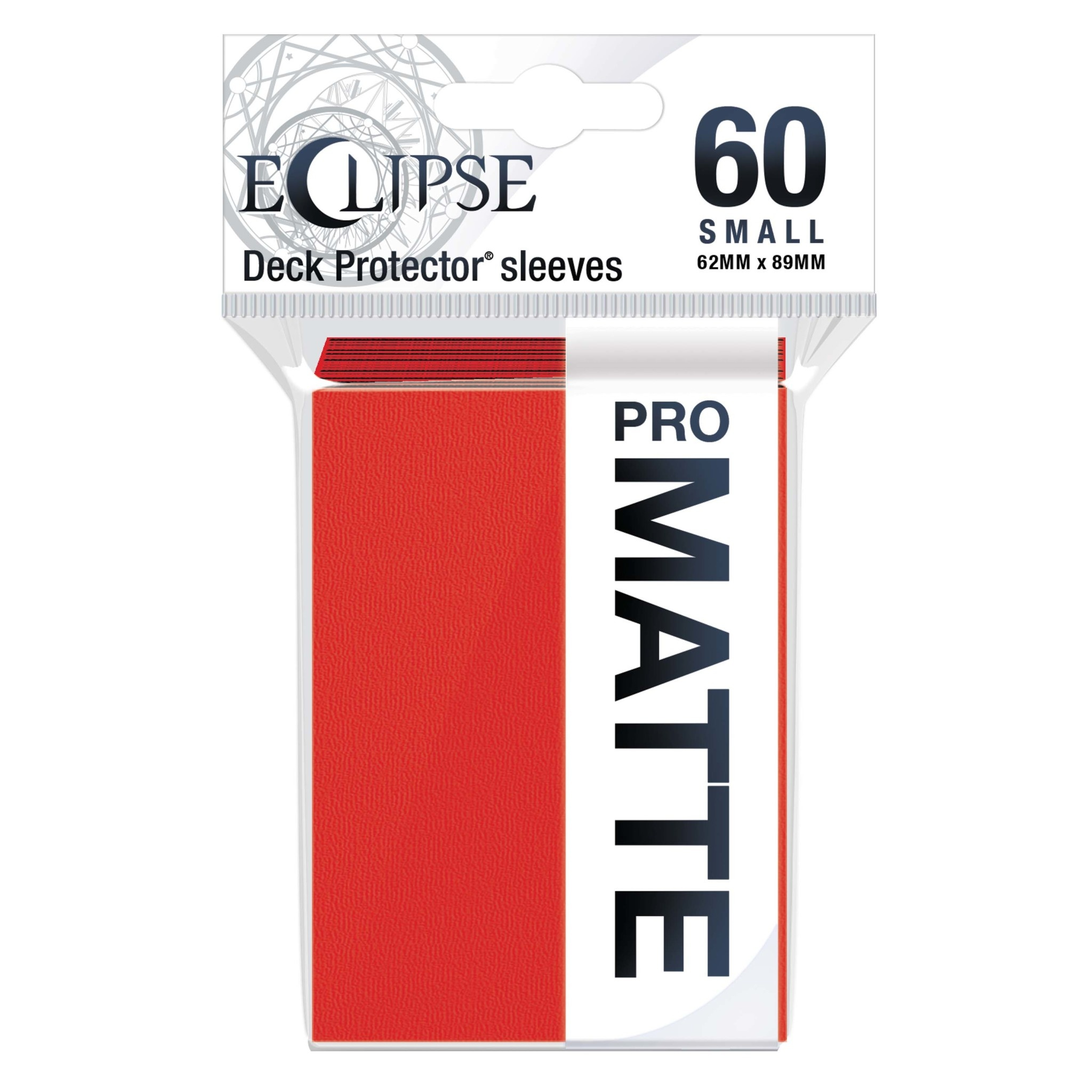 Eclipse Apple Red Small Matte Sleeves (60ct)