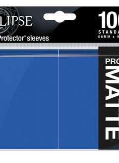 Eclipse Pacific Blue Standard Matte Sleeves (100ct)