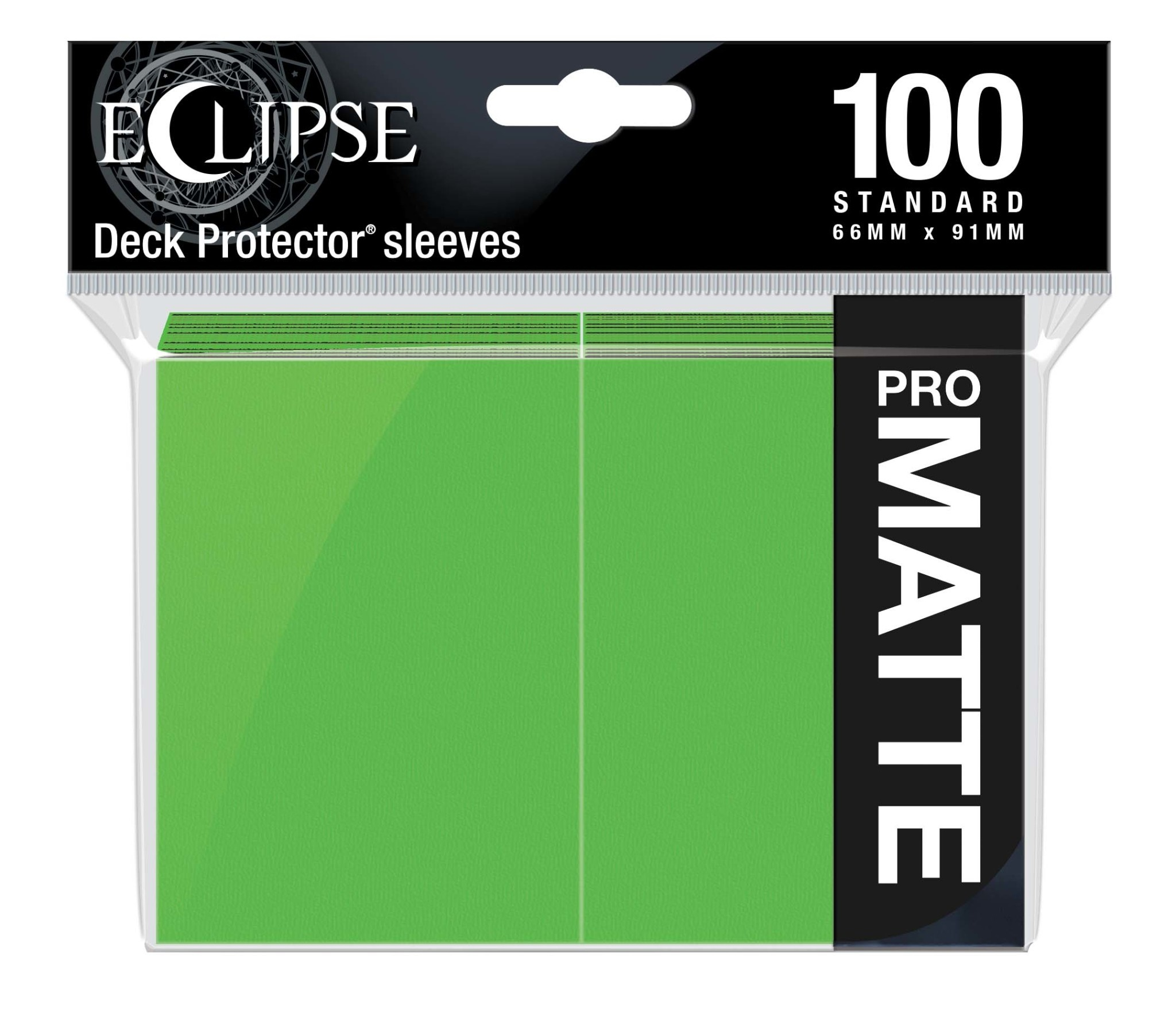 Eclipse Lime Green Standard Matte Sleeves (100ct)