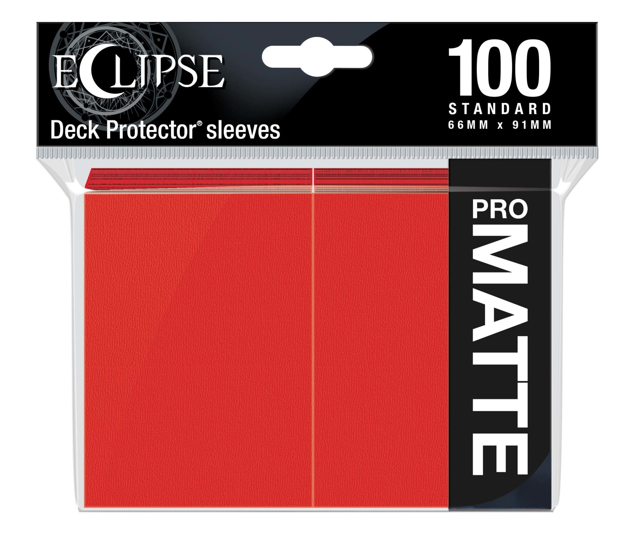 Eclipse Apple Red Standard Matte Sleeves (100ct)