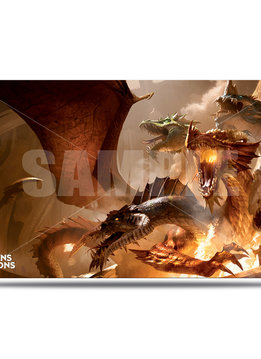 Playmat: The Rise of Tiamat - Dungeons & Dragons Cover Series