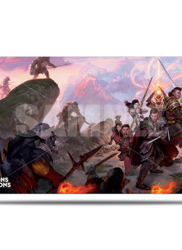 Playmat: Sword Coast Adventurer's Guide - Dungeons & Dragons Cover Series