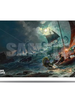 Playmat: Ghosts of Saltmarsh - Dungeons & Dragons Cover Series