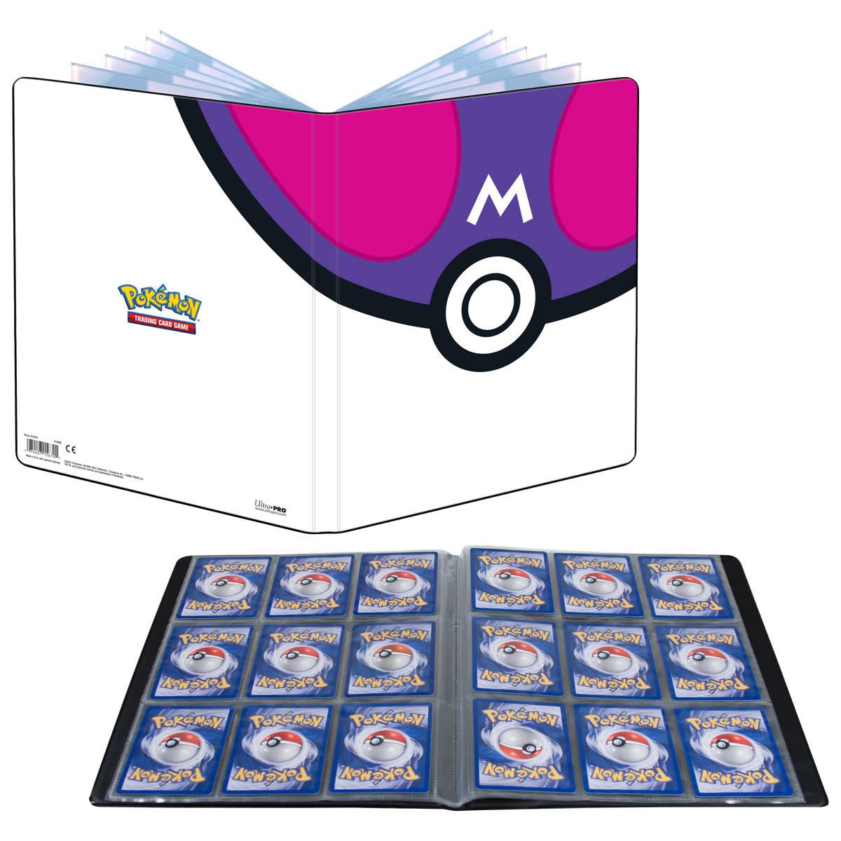 Pokemon Master Ball 9pkt Portfolio