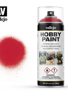 Vallejo Aerosol: Bloody Red (400ml)