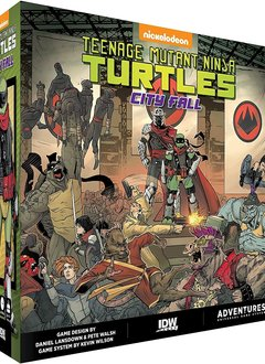 TMNT Adventures: Change is Constant - City Fall