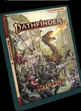 Pathfinder 2E: Bestiary 3 (HC)