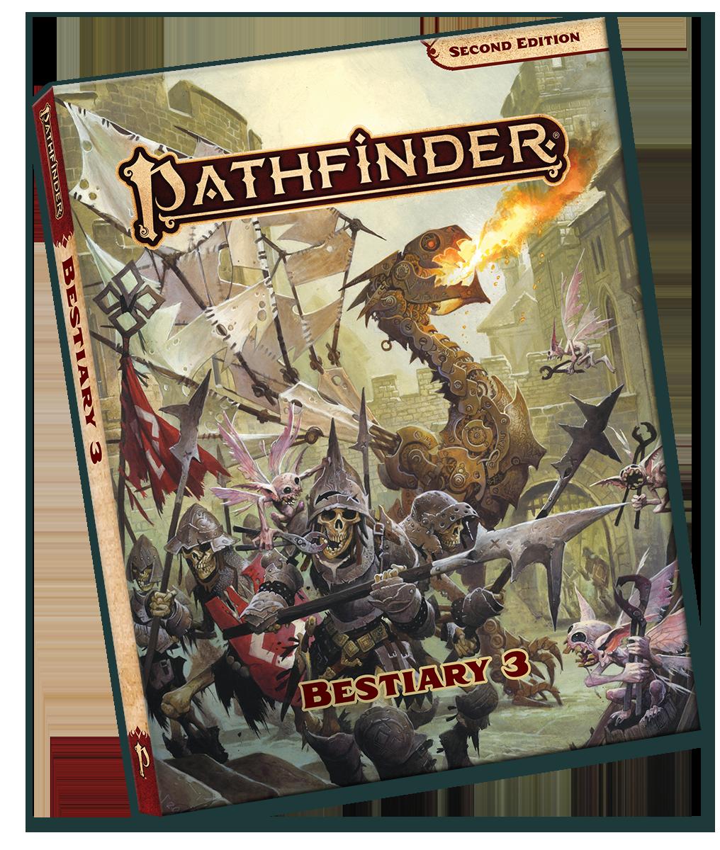 Pathfinder 2E: Bestiary 3 Pocket Edition (SC)