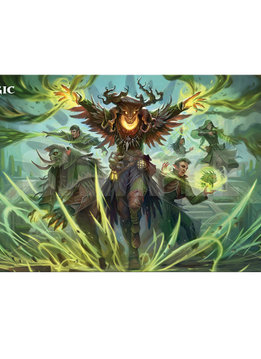 MTG Strixhaven Playmat: Witherbloom Command