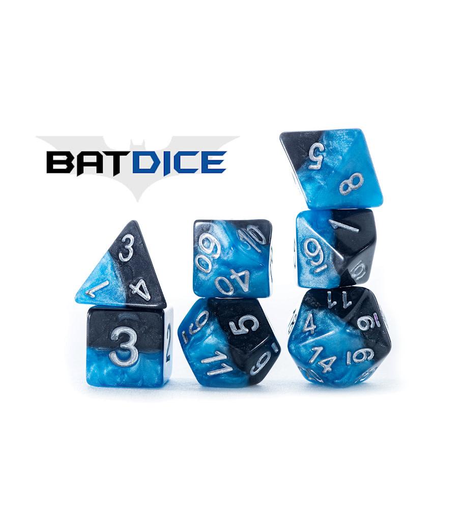 Halfsies Dice: BatDice 7-Dice Set