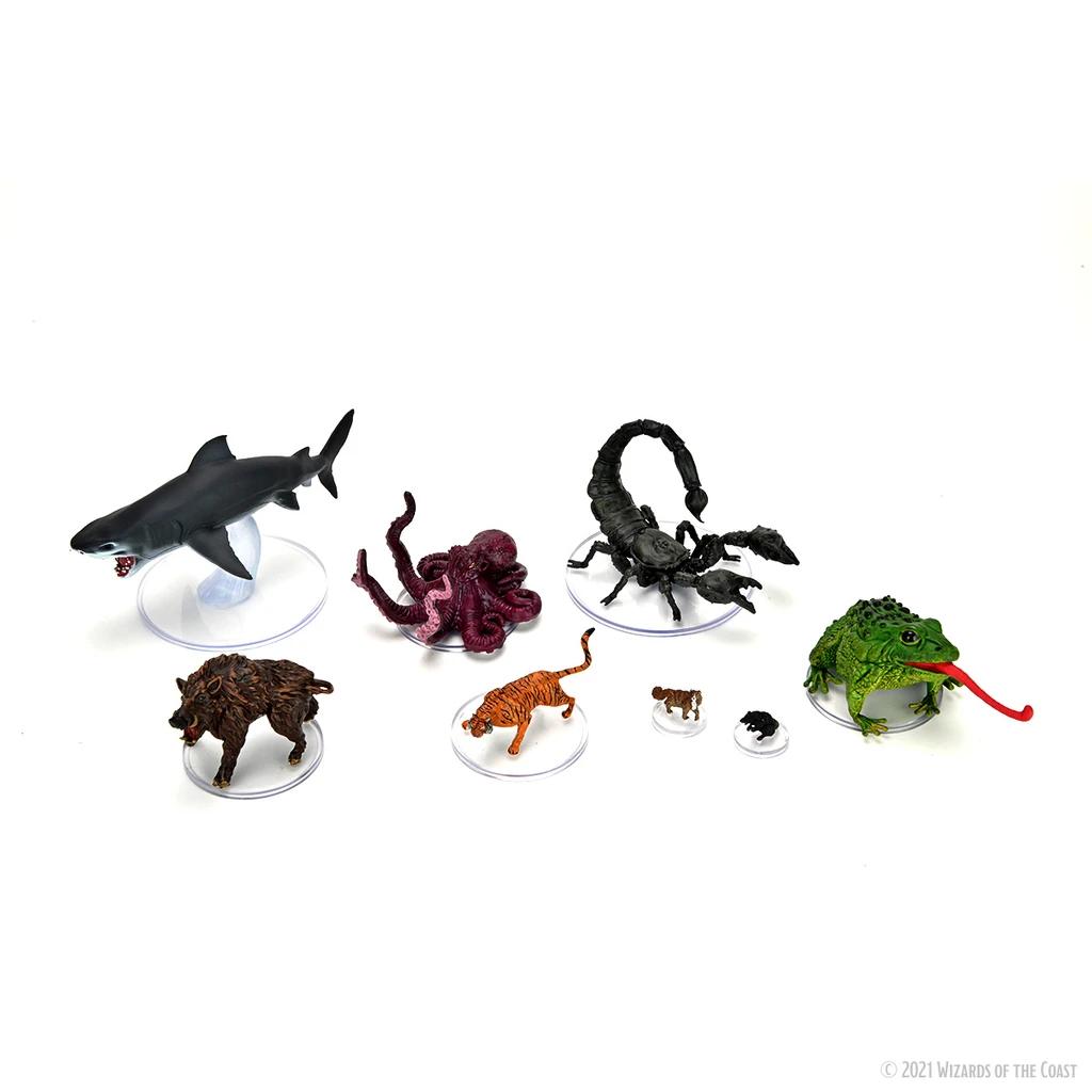 D&D Icons: Wild Shape & Polymorph Set 1