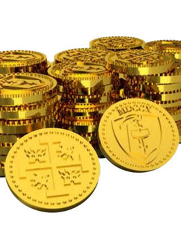 Tiny Epic Pirates: Metal Coins (52pc)