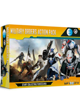 Infinity: PanOceania Military Orders Action Pack