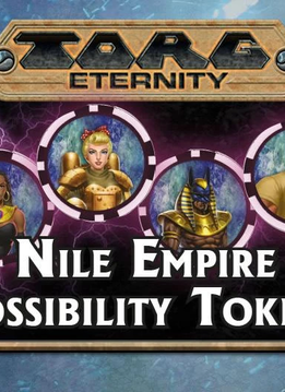 Torg Eternity: Nile Empire Possibility Tokens