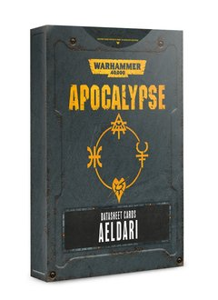 Apocalypse: Datasheet Cards Aeldari (Disponible le 6 Juillet)