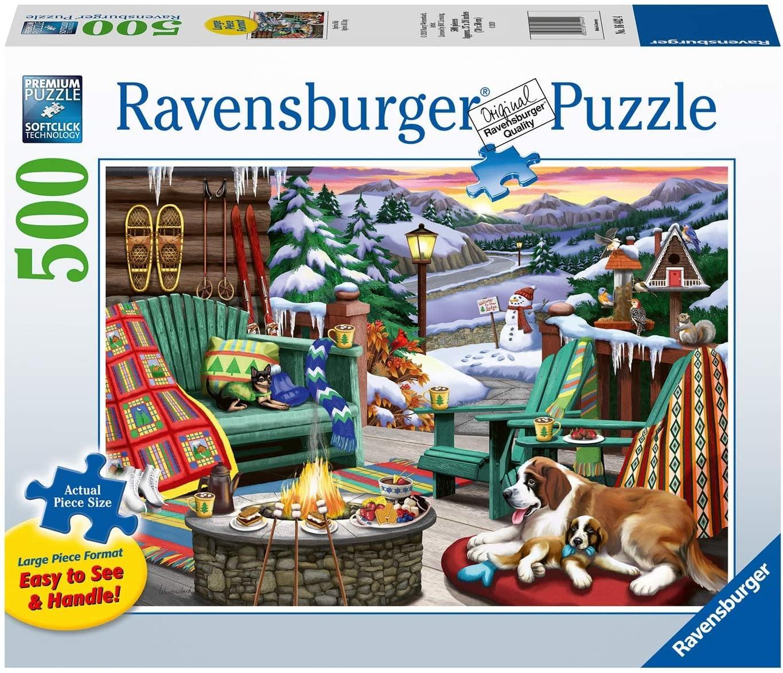 Puzzle: Après All Day - Cozy Series (500pcs Large Formats)