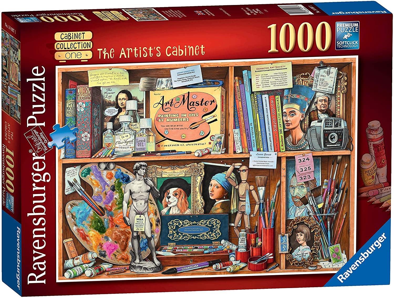 Casse-tête: L'Étagère de l'Artiste (1000pcs)