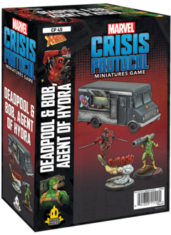 Marvel Crisis Protocol: Deadpool & Bob, Agent of Hydra Character Pack (sortie 7 mai)