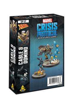Marvel Crisis Protocol: Domino & Cable Character Pack (sortie 7 mai)