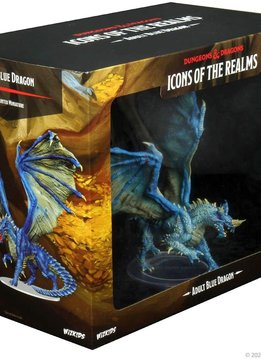 D&D Icons: Adult Blue Dragon Premium Figure