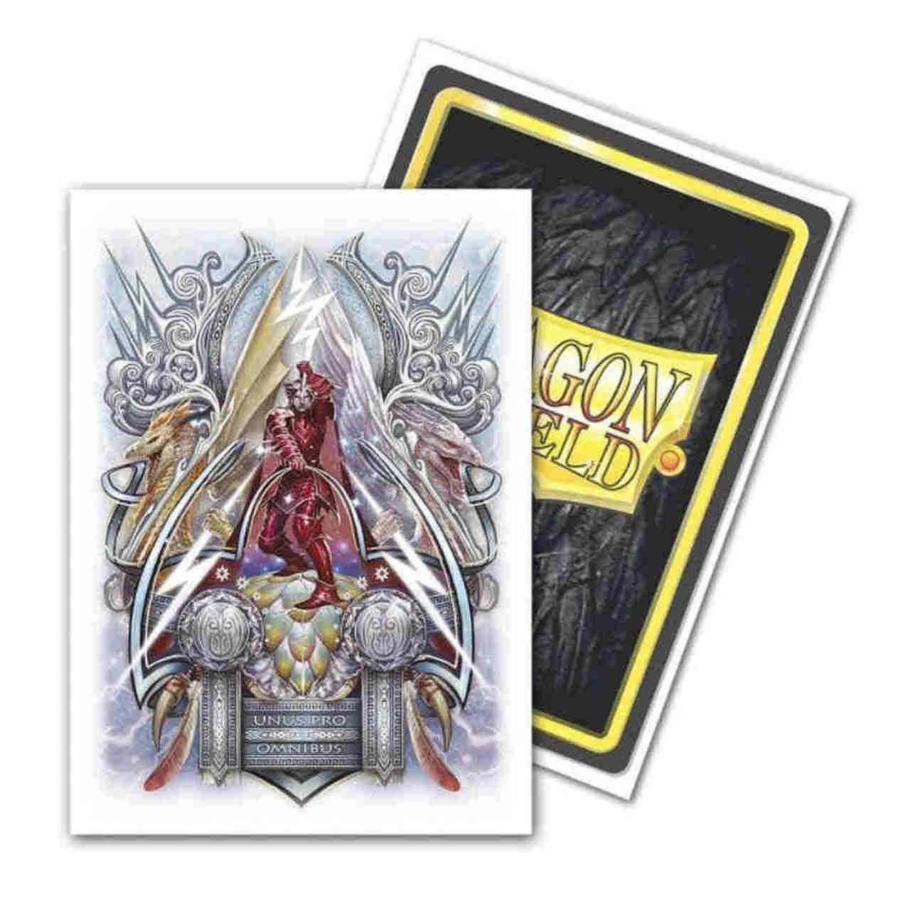 Lane Thunderhoof Coat of Arms Dragon Shield Sleeves Ltd. Ed. Brushed Art 100ct