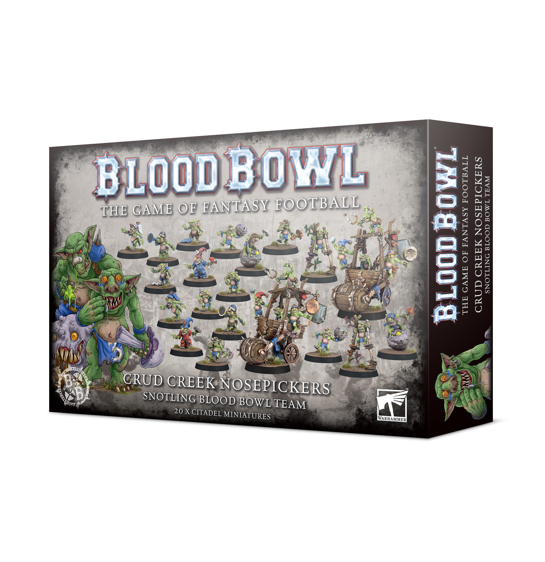 Blood Bowl: Crud Creek Nosepickers - Snotling Team