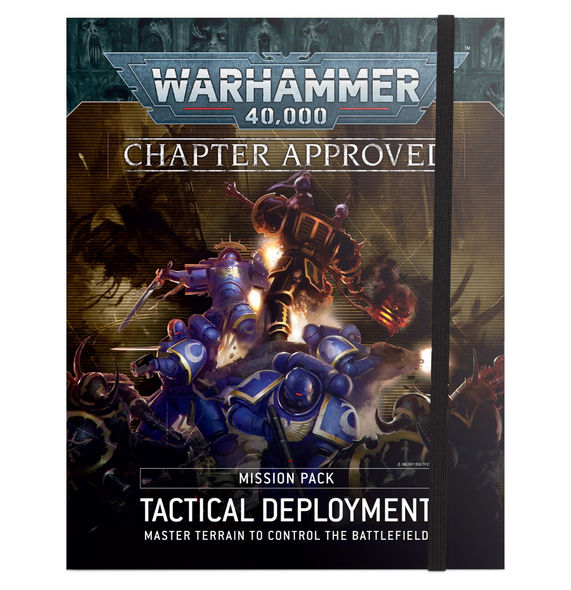 Pack de Missions Chapter Approved: Déploiement Tactique (FR)