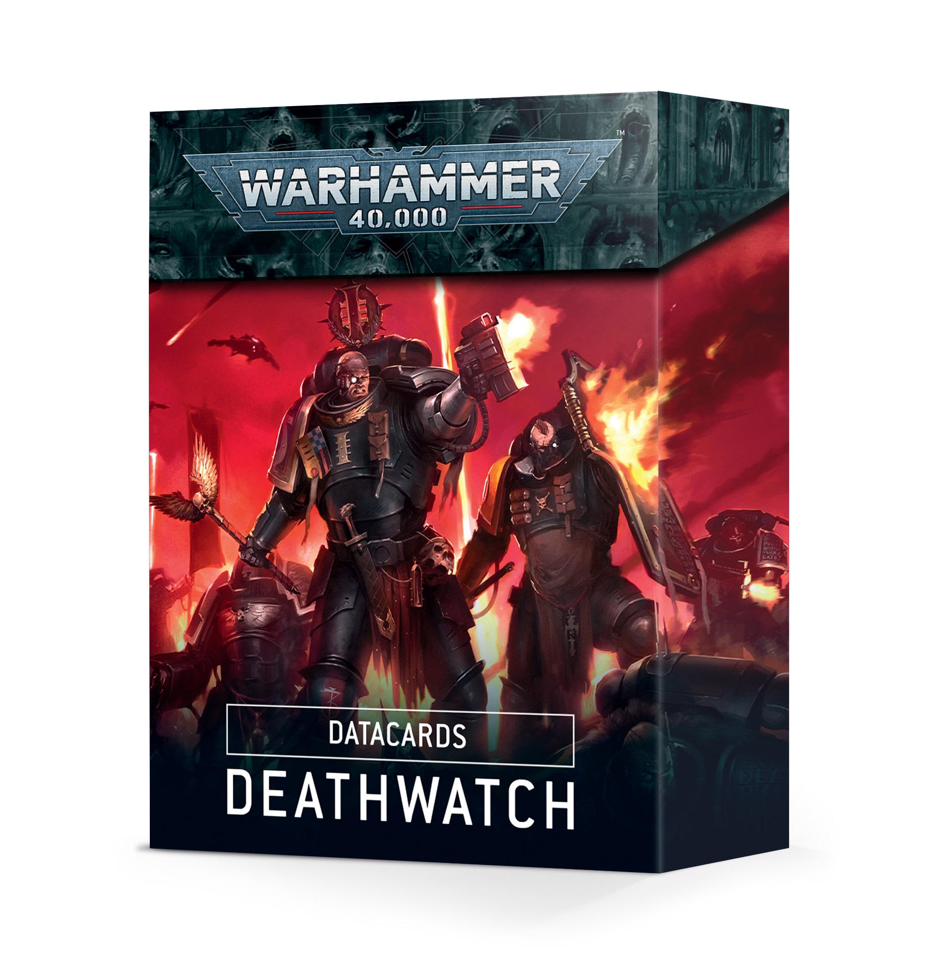 Cartes Techniques: Deathwatch (FR)