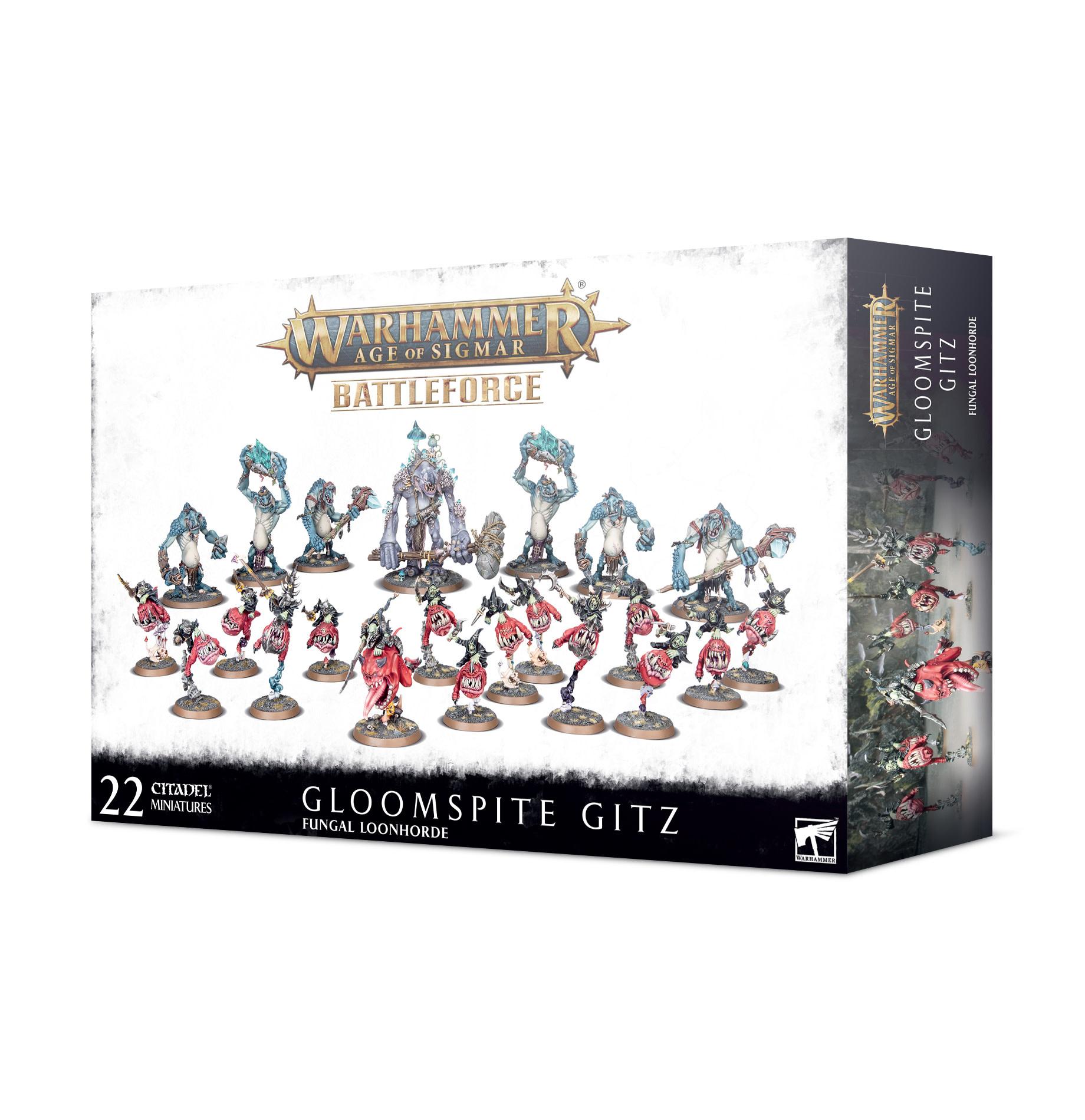 Battleforce: Gloomspite Gitz – Fungal Loonhorde