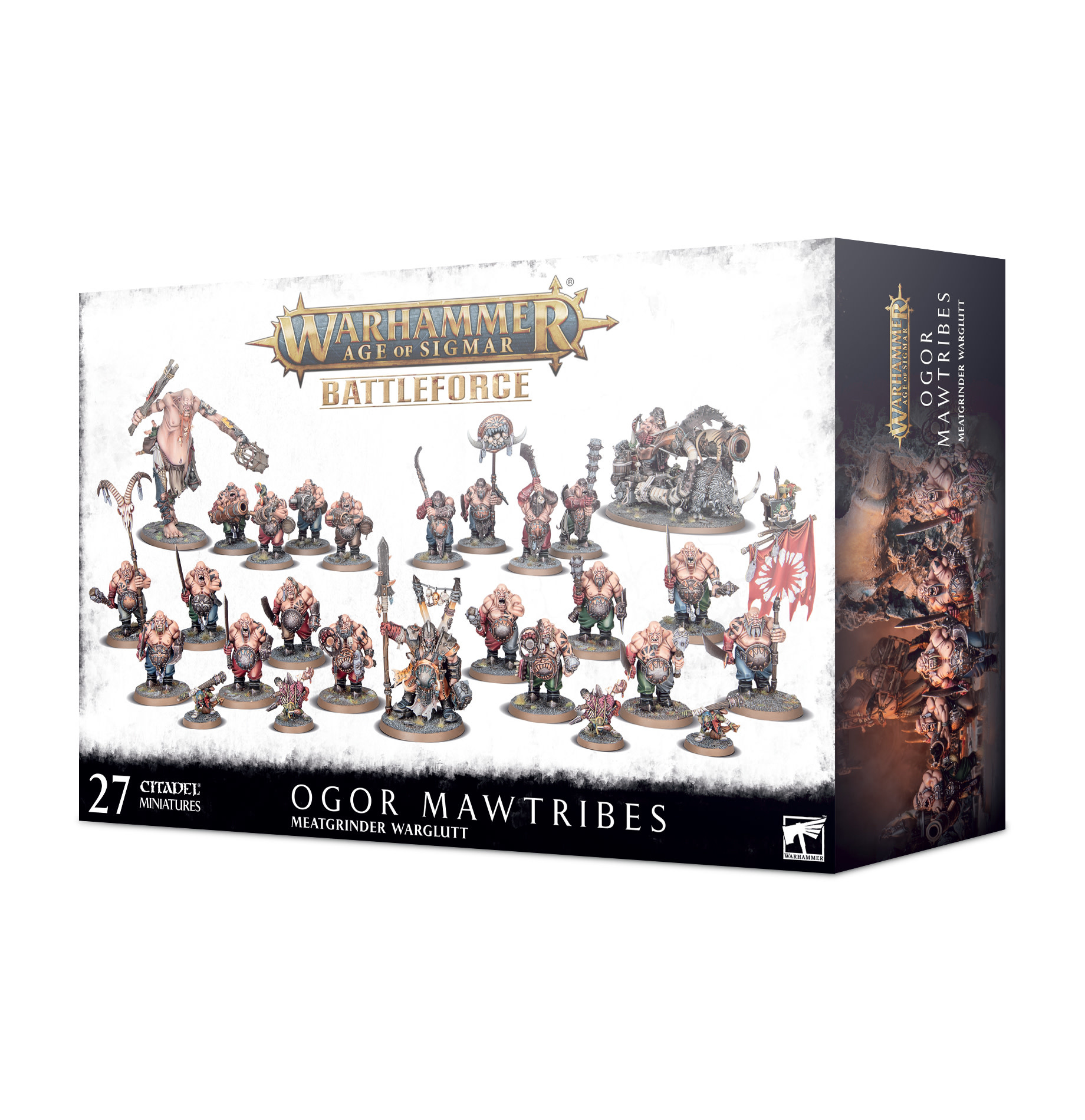 Battleforce: Ogor Mawtribes – Meatgrinder Warglutt