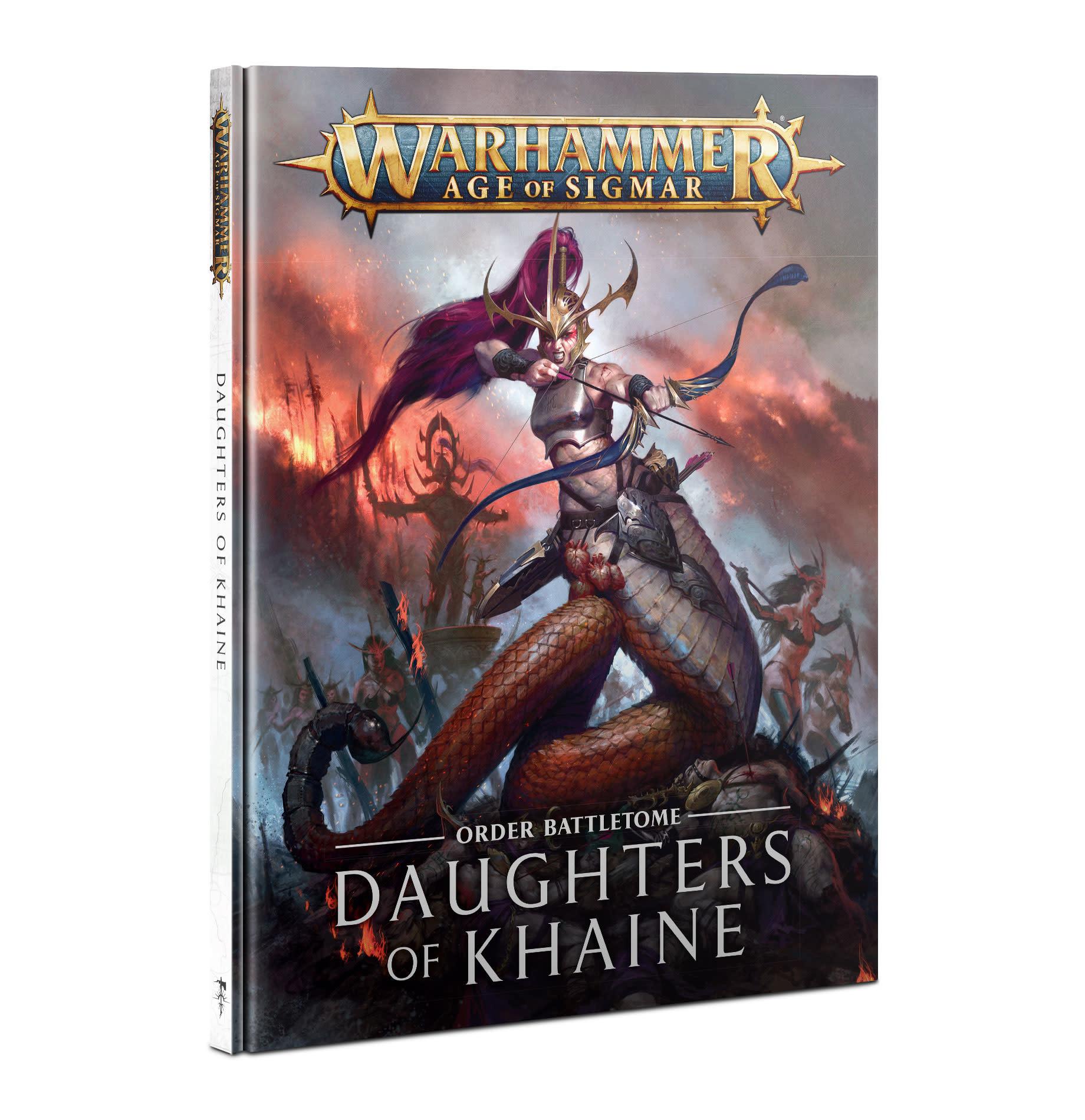 Battletome: Daughters of Khaine 2021 (FR)