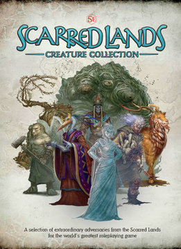 Scarred Lands Creature Collection for 5E (HC)