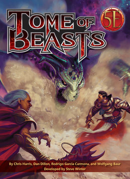 Tome of Beasts for 5E (HC)