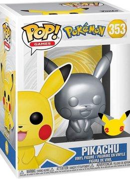 POP! Pokémon: Pikachu Metallic Silver