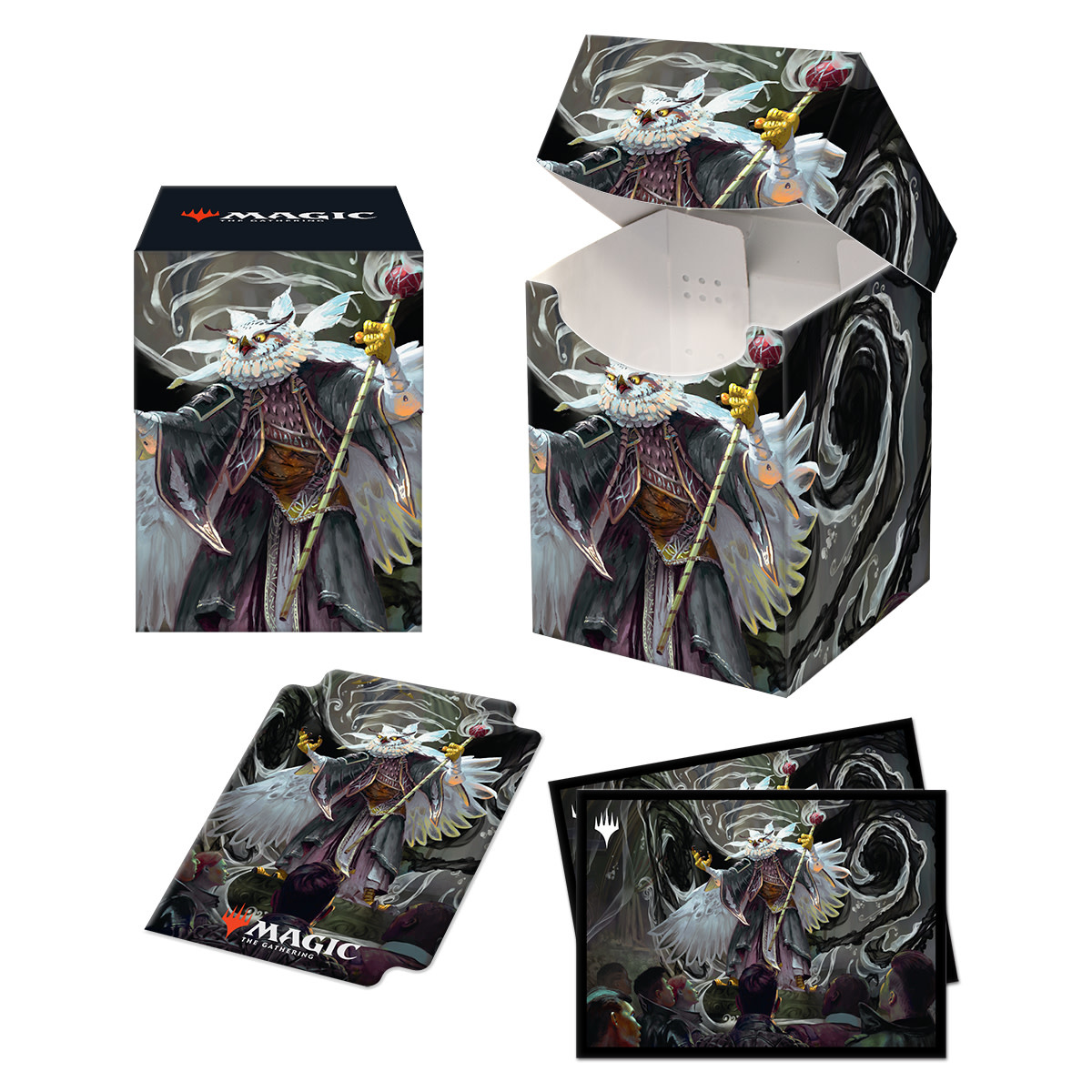 Commander 21 Silverquill Combo 100+ Deck Box and 100ct Sleeves