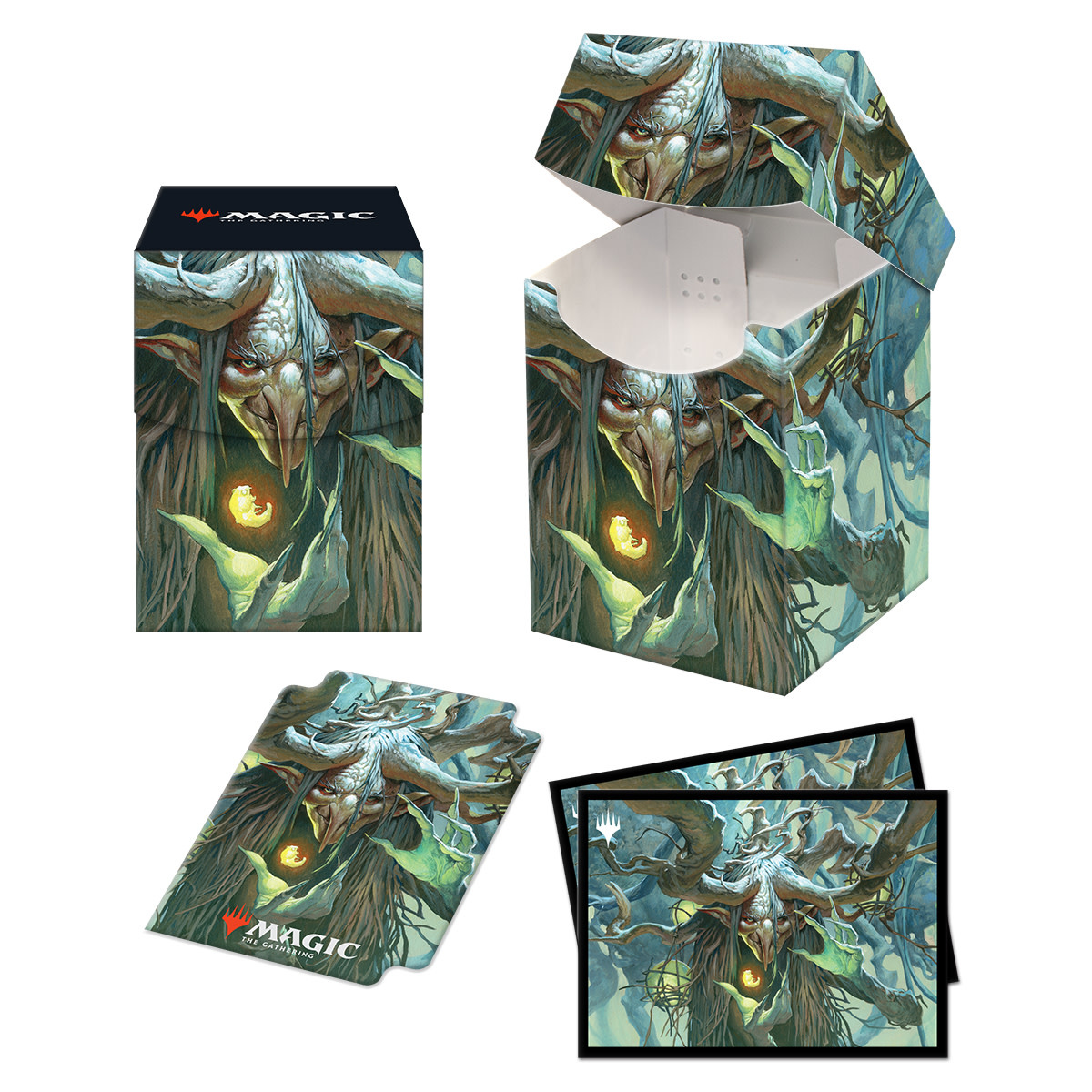 Commander 21 Witherbloom Combo 100+ Deck Box and 100ct Sleeves