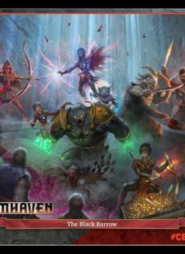 Puzzle: The Black Barrow - Gloomhaven (1000pc)