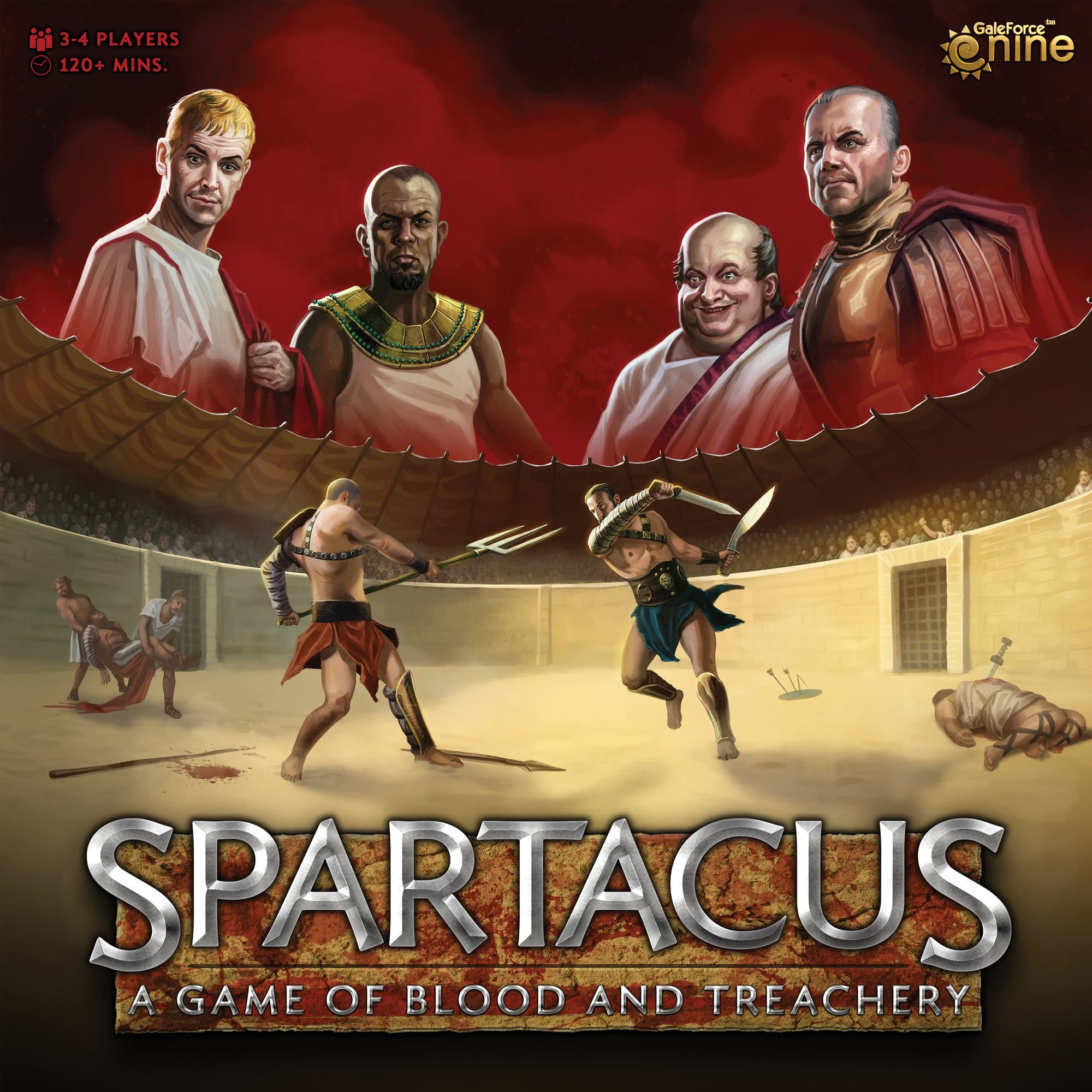 Spartacus: A Game of Blood and Treachery (EN)