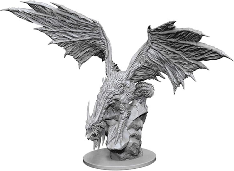 Pathfinder Unpainted MInis: Silver Dragon (WV12.5)