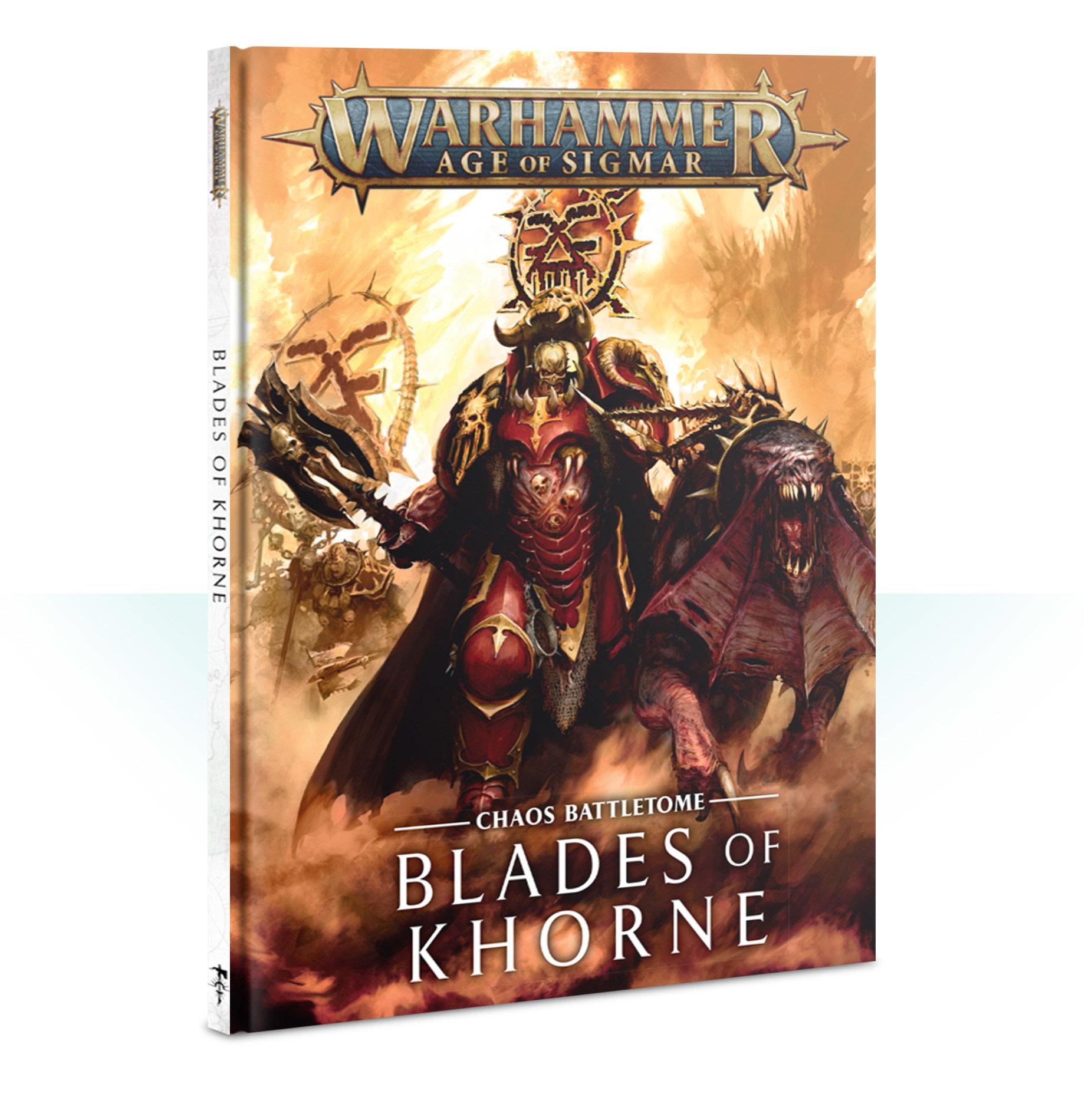 Battletome: Blades of Khorne HB