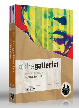 The Gallerist + Expansions and Scoring pad