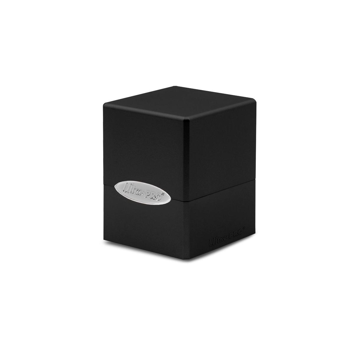 Deck Box: Satin Cube - Jet Black