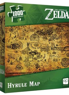 Puzzle: The Legend of Zelda™ Hyrule Map (1000 pc)