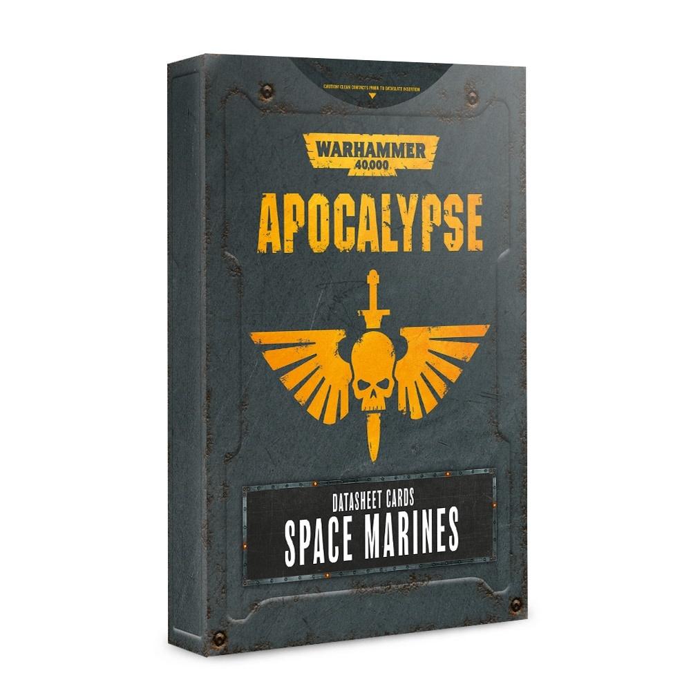 Apocalypse: Datasheet Cards Space Marines (Disponible le 6 Juillet)