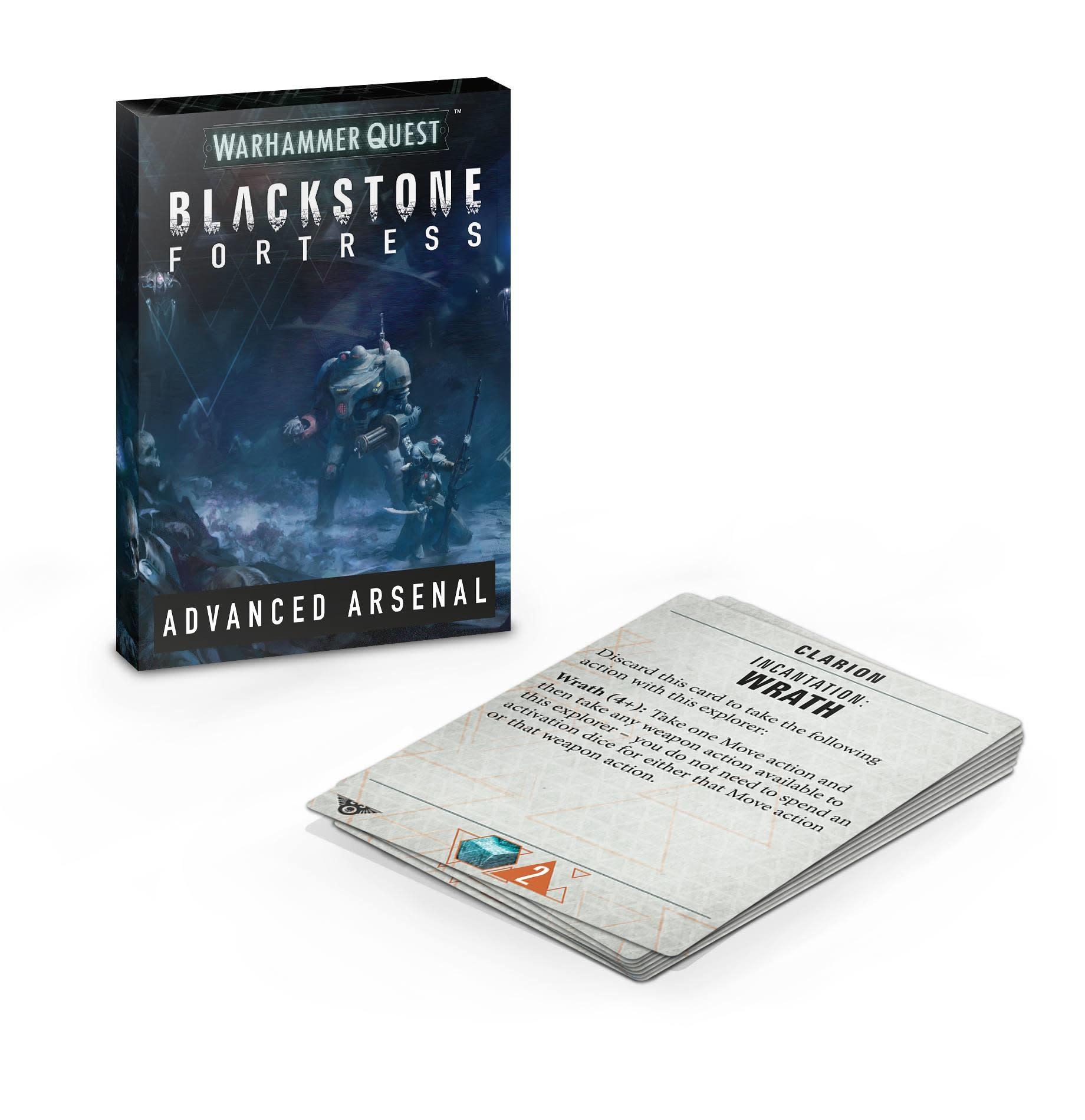 Blackstone Fortress: Arsenal Avancé